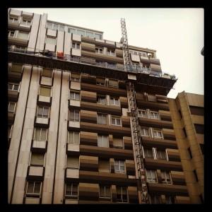 Rehabilitación de fachada con criterios de eficiencia energética.